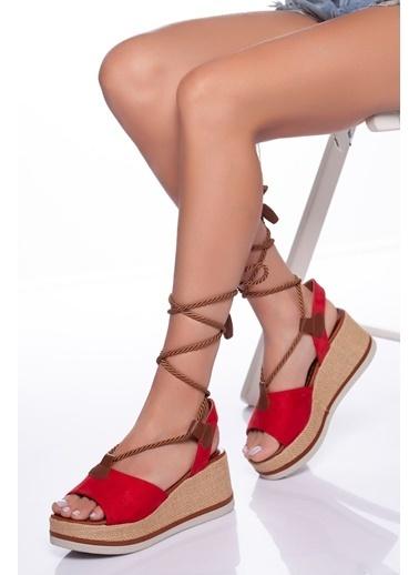 Derithy Ayakkabı Kırmızı